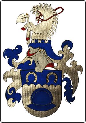 Suvun vaakunan on suunnitellut heraldikko Kari J. Tähtinen